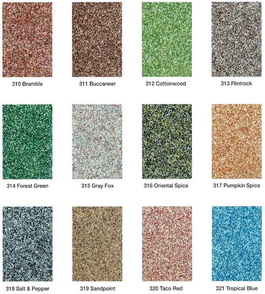 Epoxy Floors Llc Color Charts